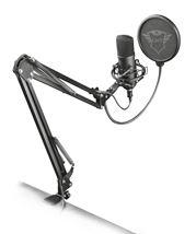 Image de Trust GXT 252+ Emita Plus Microphone de studio Noir (22400)