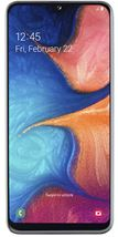 "Image de Samsung Galaxy A20e SM-A202F 14,7 cm (5.8"") 3 Go 32 Go ... (SM-A202FZWDLUX)"