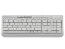 Image de Microsoft Wired Keyboard 600 clavier USB Blanc Azerty FR (ANB-00027)