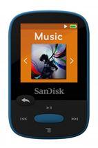 Image de Sandisk Clip Sport 8GB Lecteur MP3 Noir, Bleu 8 Go (123871)