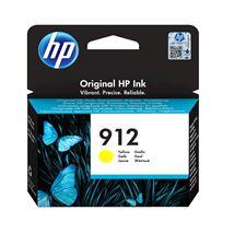 Image de HP 912 Cartouche d'encre jaune authentique (3YL79AE)
