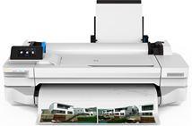 Image de HP Designjet T125 imprimante grand format A jet d'encre thermi ... (5ZY57A)