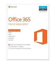 Image de Microsoft Office 365 Home 1 année(s) Néerlandais (6GQ-00788)