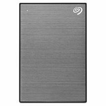 Image de Seagate Backup Plus Slim disque dur externe 1000 Go Gris (STHN1000405)