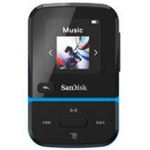 Image de Sandisk Clip Sport Go Lecteur MP3 Noir, Bleu 32 Go (SDMX30-032G-G46B)