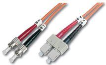 Image de Digitus  câble de fibre optique 1 m ST/BFOC SC Orange (DK-2612-01)