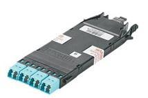Image de Panduit LC/MPO, OM4, 50 / 125 micron adaptateurs de f ... (FHC3ZO-08H-10B)