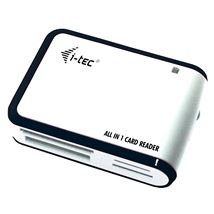 Image de i-tec USB 2.0 externe All-In-One lecteur (USBALL3-W)