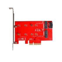 Image de i-tec PCI-E 2x M.2 Card (PCE2M2)
