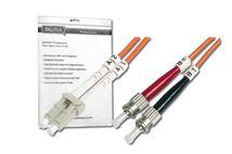 Image de Digitus  câble de fibre optique 1 m OM2 LC ST Orange (DK-2531-01)