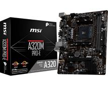 Image de MSI A320M PRO-E carte mère Emplacement AM4 Micro ATX AMD A3 ... (7A36-017R)