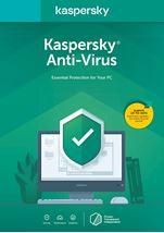 Image de Kaspersky Lab Anti-Virus 2020 1 licence(s) 1 année ... (KL1171B5CFS-20SLIM)