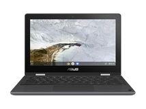 """Image de ASUS Chromebook Flip C214MA Gris 29,5 cm (11.6"""") 1366 ... (90NX0291-M00870)"""