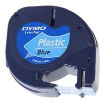 Image de DYMO ruban d'étiquette Noir sur bleu (S0721650)