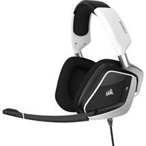 Image de Corsair VOID ELITE USB casque Arceau Noir, Blanc (CA-9011204-EU)