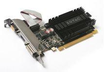 Image de Zotac  carte graphique GeForce GT 710 1 Go GDDR3 (ZT-71301-20L)