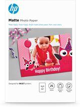 Image de HP papier photos Blanc Mat (7HF70A)