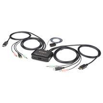 Image de StarTech.com Commutateur KVM à 2 ports USB 4K 60 Hz Displ ... (SV211DPUA4K)