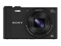 """Image de Sony Cyber-shot DSC-WX350 1/2.3"""" Appareil-photo compac ... (DSC-WX350B.CE3)"""
