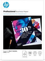 Image de HP papier jet d'encre A4 (210x297 mm) Gloss 150 feuilles Blan ... (3VK91A)