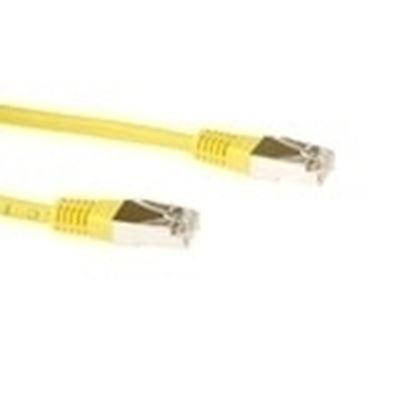 Image sur ACT Patchcord SSTP Category 6 PIMF, Yellow 10.00M câble de rés ... (FB9810)