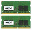 Image de Crucial 16GB (2x8GB) DDR4 2400 SODIMM 1.2V module de ... (CT2K8G4SFS824A)