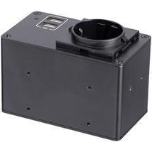 Image de StarTech.com boitier de prise de courant C13 Noir (MOD4POWEREU)