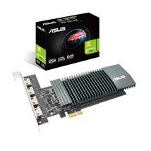 Image de ASUS GT710-4H-SL-2GD5 NVIDIA GeForce GT 710 2 Go GDDR ... (90YV0E60-M0NA00)