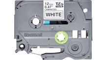 Image de Brother TZE-231S ruban d'étiquette Noir sur blanc (TZE231S)