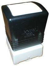 Image de Brother PR-2020B sceau 20 x 20 mm Noir (PR2020B6P)