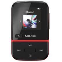 Image de Sandisk Clip Sport Go Lecteur MP3 Noir, Rouge 32 Go (SDMX30-032G-G46R)