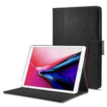 Image de SPIGEN iPad 9.7'' (2018/2017) Case Stand Folio, Black (053CS22390)