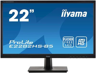 "Image sur iiyama ProLite LED display 54,6 cm (21.5"") 1920 x 1080 pi ... (E2282HS-B5)"