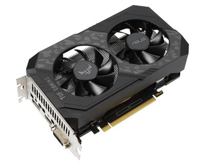 Image sur ASUS TUF Gaming TUF-GTX1650-O4GD6-P-GAMING NVIDIA GeF ... (90YV0EZ2-M0NA00)