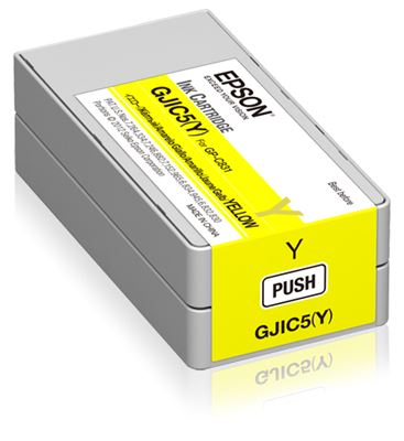Image sur Epson GJIC5(Y): Ink cartridge for ColorWorks C831 (Yellow ... (C13S020566)