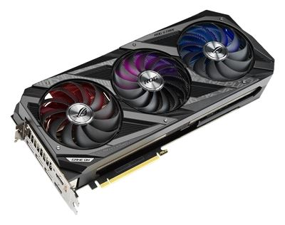 Image sur ASUS ROG NVIDIA GeForce RTX 3080 10GB 10 Go GDDR6X (90YV0FA0-M0NM00)