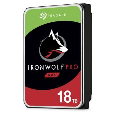 "Image sur Seagate IronWolf Pro disque dur 3.5"" 18000 Go Série ATA ... (ST18000NE000)"