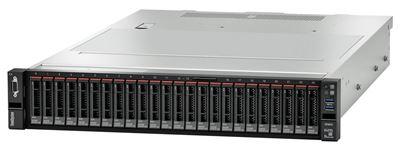 Image sur Lenovo ThinkSystem SR655 serveur AMD EPYC 3 GHz 32 Go DDR4 ... (7Z01A02CEA)