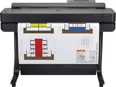 Image sur HP Designjet T650 imprimante grand format A jet d'encre thermi ... (5HB10A)