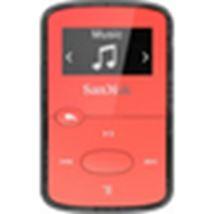 Image de Sandisk Cilip Jam Lecteur MP3 Rouge 8 Go (SDMX26-008G-G46R)