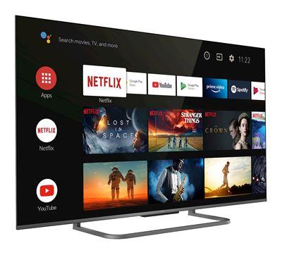 """Image sur TCL TV 127 cm (50"""") 4K Ultra HD Smart TV Wifi Argent (65P818)"""