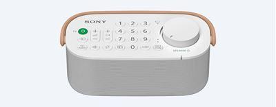 Image sur Sony enceinte portable Blanc (SRS-LSR200)
