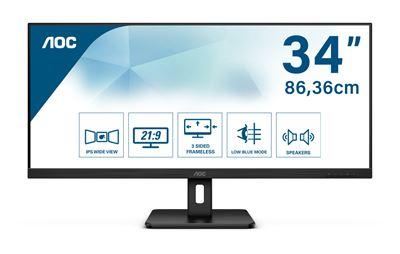 """Image sur AOC Essential-line LED display 86,4 cm (34"""") 2560 x 1080 pixe ... (Q34E2A)"""