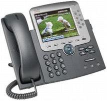 Image de Cisco Unified IP Phone 7975G w/ 1 RTU License (CP-7975G-CH1)