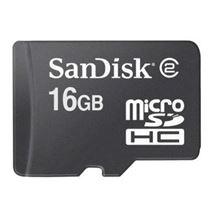Image de Sandisk  mémoire flash 16 Go MicroSDHC (SDSDQM-016G-B35)