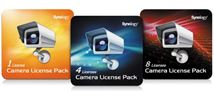 Image de Synology 4 cam Lic Pack (DEVICE LICENSE (X 4))