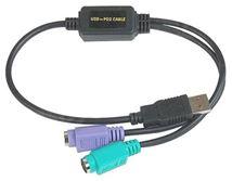 Image de Datalogic ADP-203 Wedge to USB Adapter câble PS/2 0,5 m No ... (90ACC1903)