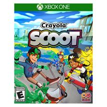 Image de Microsoft Crayola Scoot, Xbox One Basique Anglais, Espagnol (G3Q-00700)
