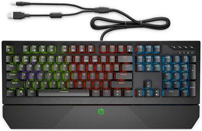 Image sur HP Pavilion Gaming 800 clavier USB Italien Noir (5JS06AA#ABB)