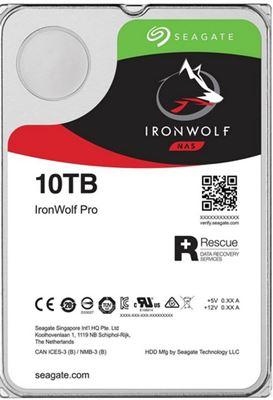 "Image sur Seagate IronWolf Pro disque dur 3.5"" 10000 Go Série ATA ... (ST10000NE000)"